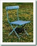habitat blue chair