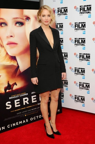 Jennifer Lawrence Serena Premieres London