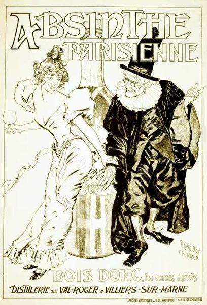 Absinthe Parisienne BW