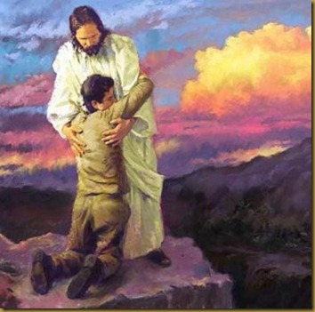 JESUS Y JÓVEN