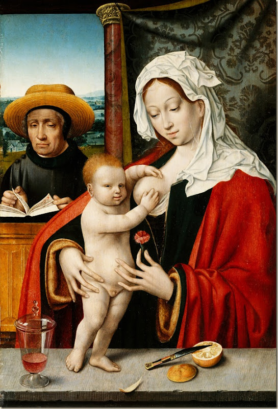 Joos van Cleve, Vierge  l&#39;enfant