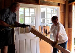 1406004 Jun 01 Trimming The Door Frame