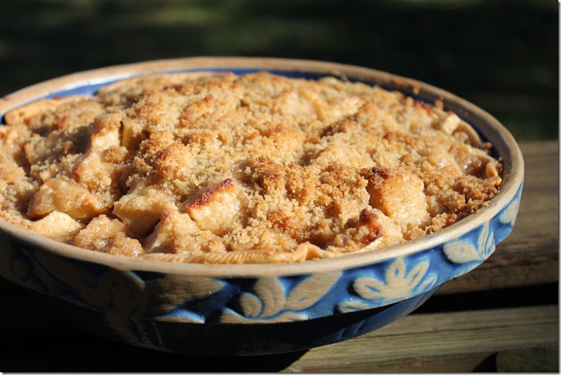 Apple Crumb Pie 034