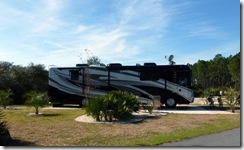 Cedar Key RV Resort site 76-Tricia and Dan's