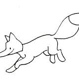Aprender a hacer te aporta dibujos de zorros para colorear con el