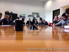 Commissione regionale antimafia a Brescia