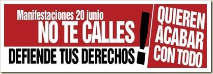Manifestaciones 20J