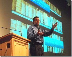 Ransom Love addresses the 2011 BYU Family History Conference