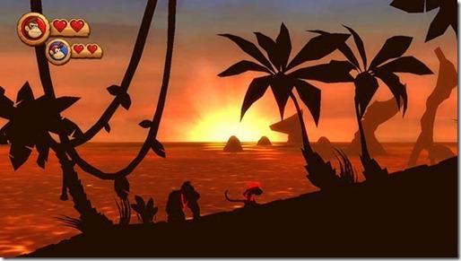 Donkey Kong Country Returns - Outro jogo difícil.
