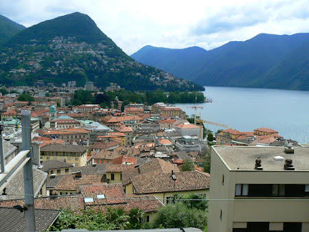 Orase Elvetia: Lugano la malul lacului