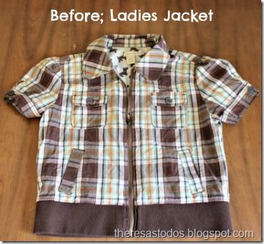 Before; Ladies Jacket