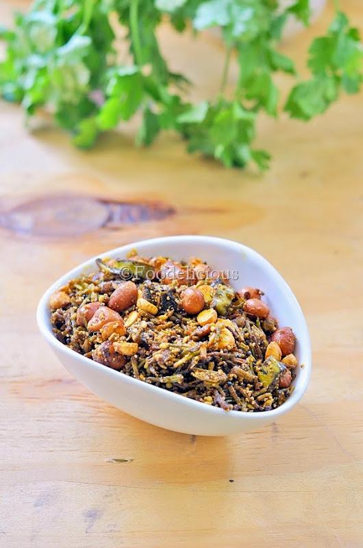Foodelicious- crispy coriander chutney