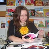"""Марьяна Савка - поэтесса, детская писательница, литературовед, публицист, главный редактор """"Издательства Старого Льва""""."""