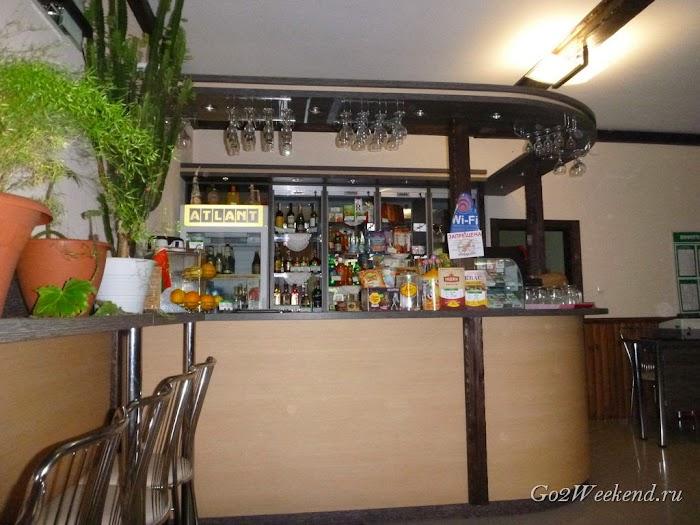 Беловежская пуща кафе сосны