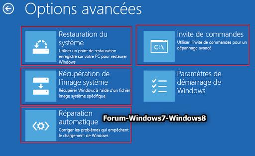Forum windows 7 et windows 8 - Console de recuperation windows 7 ...