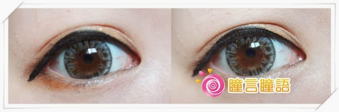 日本ROYAL VISION隱形眼鏡-混血四色灰SAM_1353