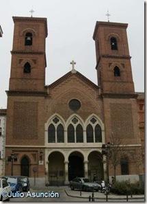 Iglesia de la Virgen de la Paloma - Exterior