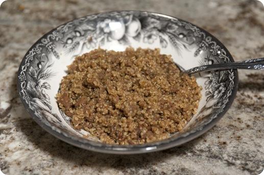 quinoa dressing