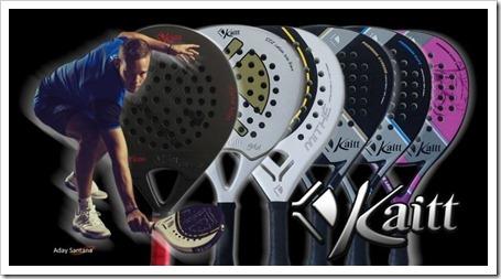 La firma KAITT Excellence patrocinará 2 pruebas del Bwin Padel Pro Tour 2012.