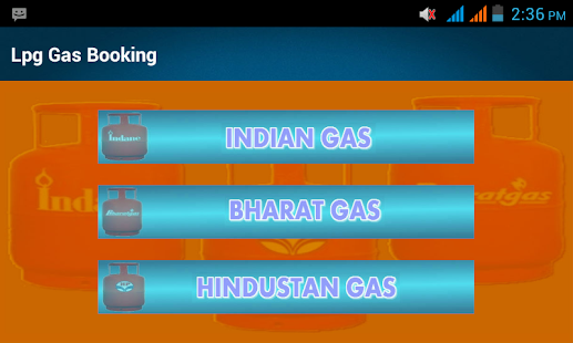 Lpg Gas Booking Rate