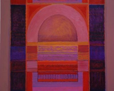 Artist Lance Balderson Painting's detail