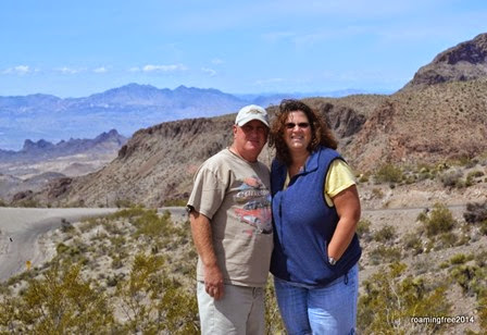 On the road to Oatman