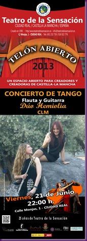 CONCIERTO DE TANGO HEMIOLIA