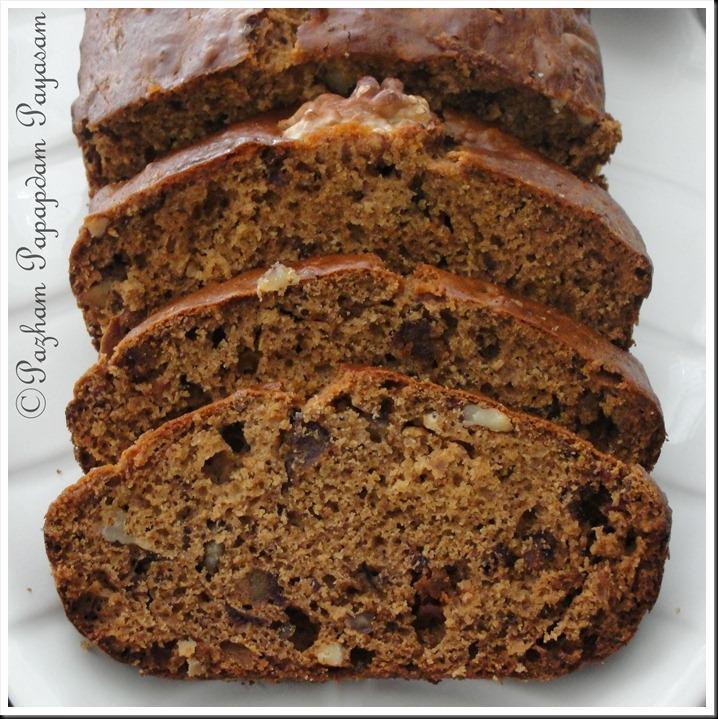 Dates walnut loaf