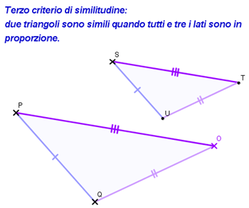 3° criterio similitudine triangoli