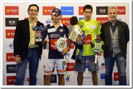 """Campeones: Carlos """"Sanyo"""" Gutiérrez y Maxi Sánchez"""