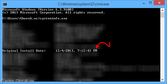 windows install date