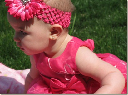 Annabelle's first Easter