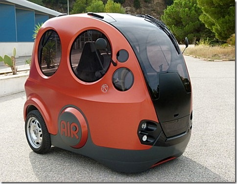 Городской автомобиль AirPod