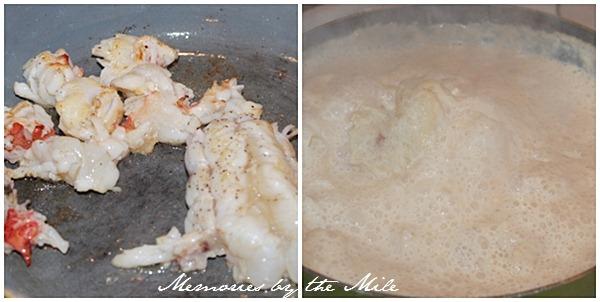 Creamy Lobster Farfalle 2