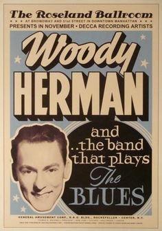 Woody Herman poster