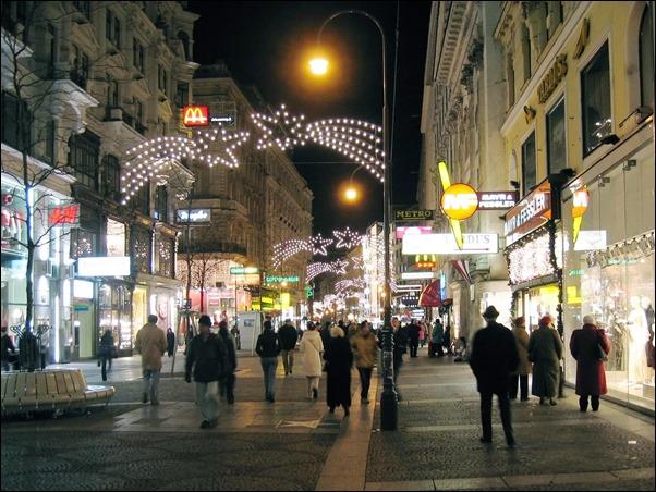 شارع الكارتنر فيينا