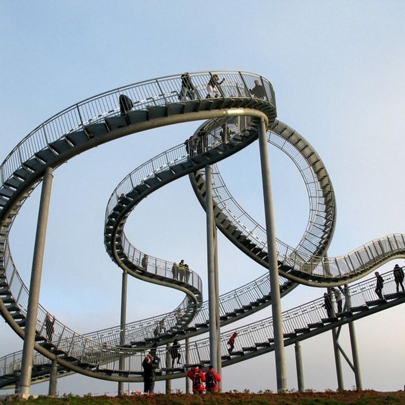 Pedestrian Roller Coaster in Germany