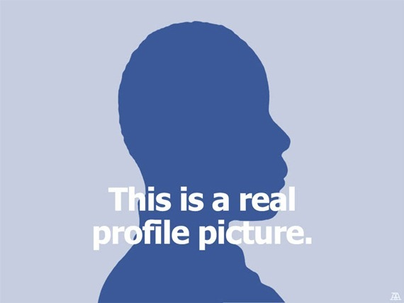 A real profile picture
