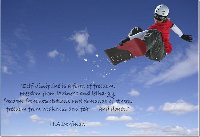 snowboard self discipline