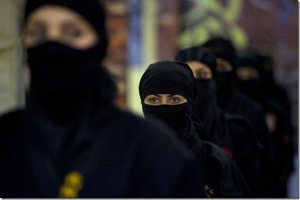 Mulheres iraquianas ninjas (3)
