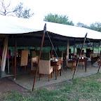 Dunia Camp, Speisezelt © Foto: Angelika Krüger | Outback Africa Erlebnisreisen