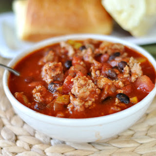 Hearty Turkey and Bean Chili