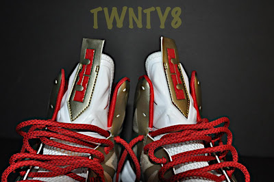nike lebron 10 id production poor man championship gold 1 12 Poor Mans Championship Gold Nike LeBron X iD by TWNTY8