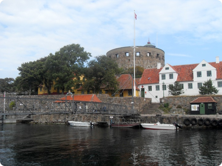 Store Tårn fra havnen