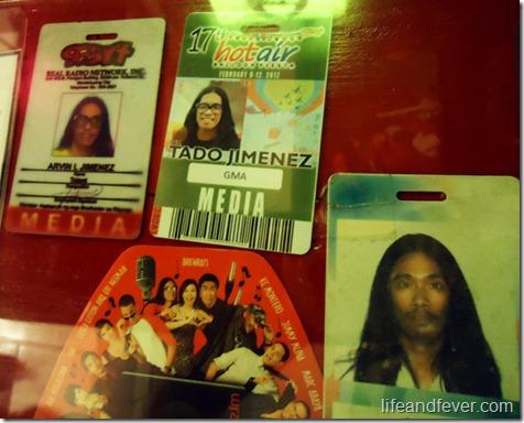 Tado Jimenez IDs
