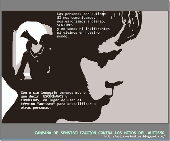 Cartel de Santiago Gazón para campaña Atismo