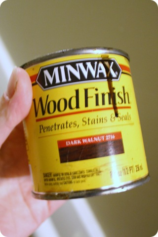 minwax dark walnut 