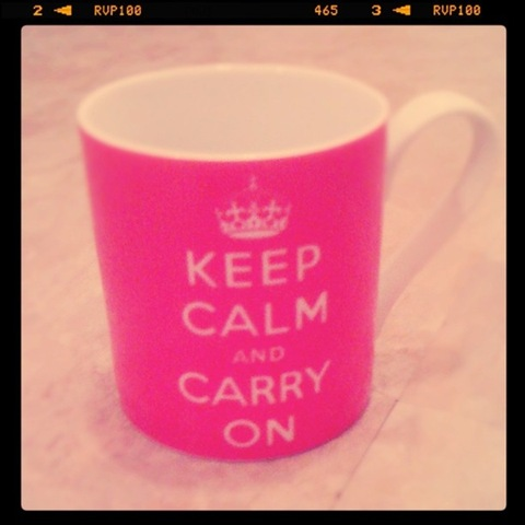 #58 - Keep calm and carry on