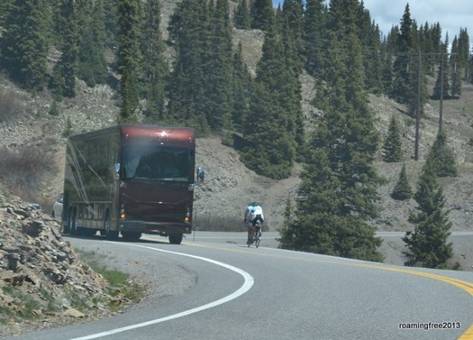 Some of the vehicles we passed along the way to Ouray