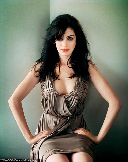 anne hathaway linda sensual sexy desbaratinando  (11)